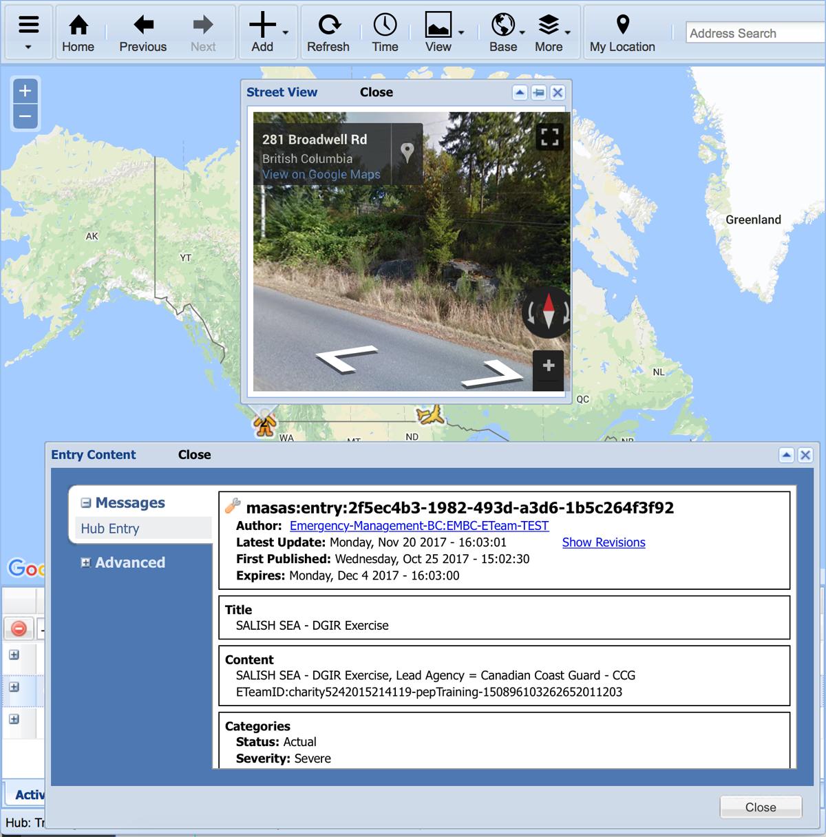 MASAS map image